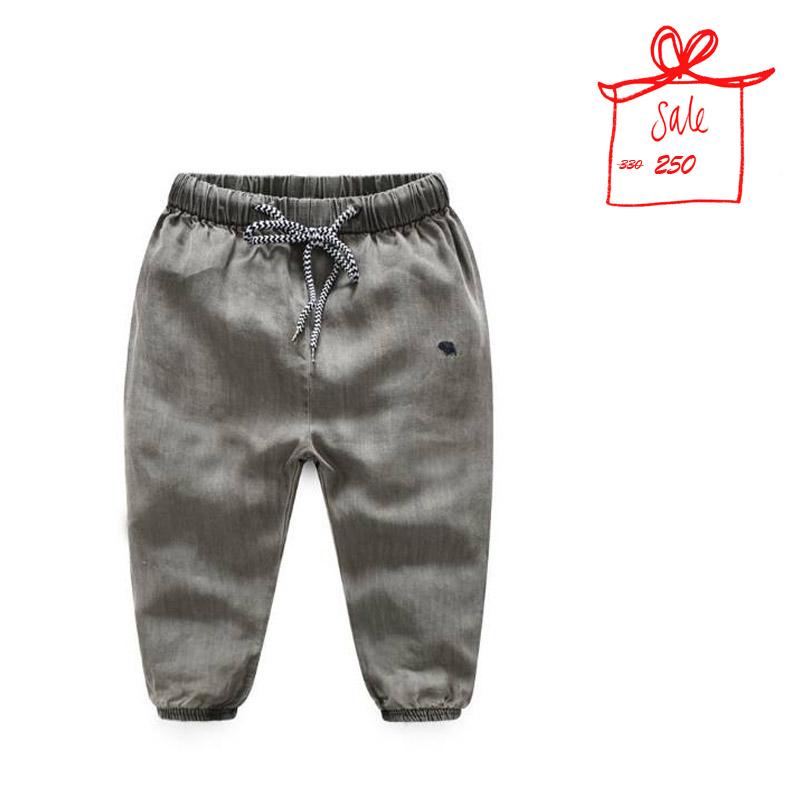 กางเกงขาจั๊มสียีนส์ #ผ้านิ่มพริ้ว #สีเทา