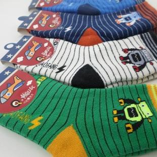 U037-23**พร้อมส่ง** (ปลีก+ส่ง) ถุงเท้า Q- House แฟชั่นเด็กโต (3-6 ปี) ไม่มีกันลื่น เป็นขนหนูด้านใน เนื้อดี งานนำเข้า ( Made in China)