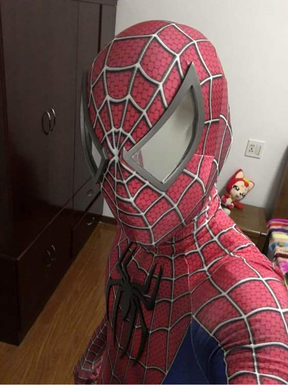 ชุด Cosplay Spiderman (มีให้เลือก 2 แบบ)