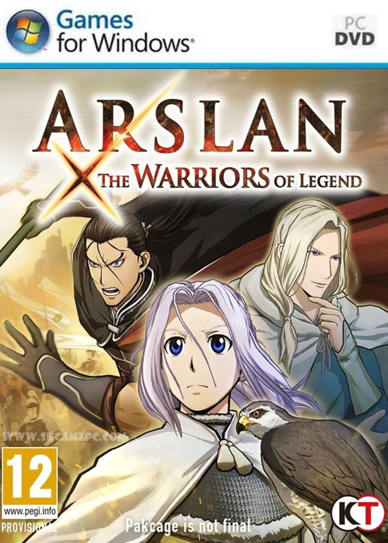 Arslan The Warriors of Legend ( 3 DVD )