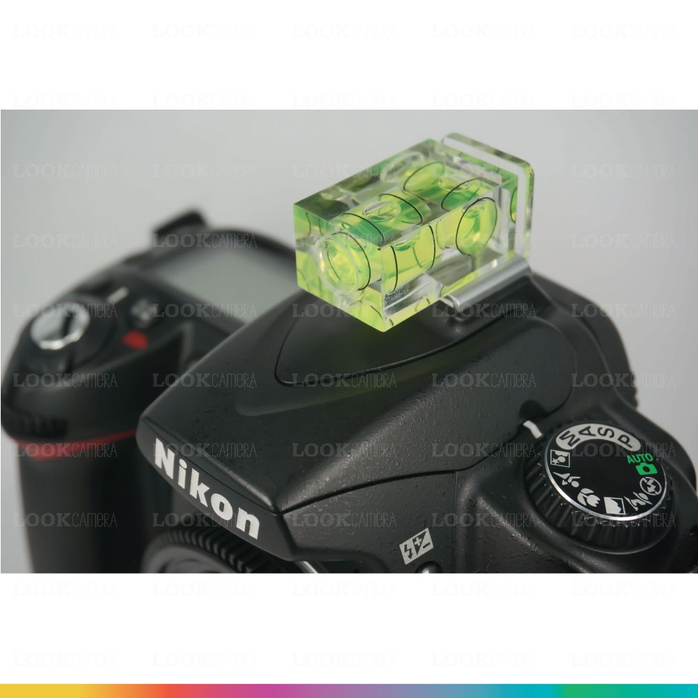 Bubble Level 2 Axis ตัววัดระดับน้ำติดหัวกล้อง 2 ทิศทาง