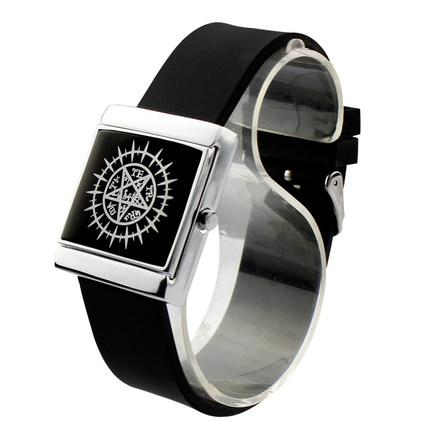 นาฬิกาข้อมือ LED Kuroshitsuji(สีดำ)