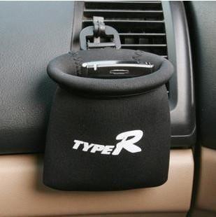 Phone Pocket (ถุงผ้าใส่ของภายในรถยนต์) สีดำ ขนาด 11CMx11CM