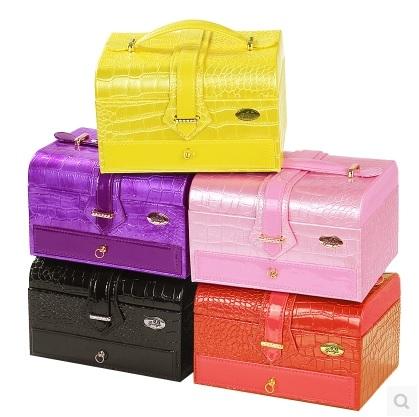 กล่องเครื่องประดับ สีสันสดใส