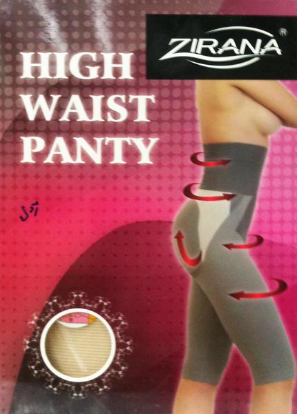 กางเกงปรับสรีระกระชับสัดส่วน Zirana High Waist Panty ผ้านาโนอินฟาเรด