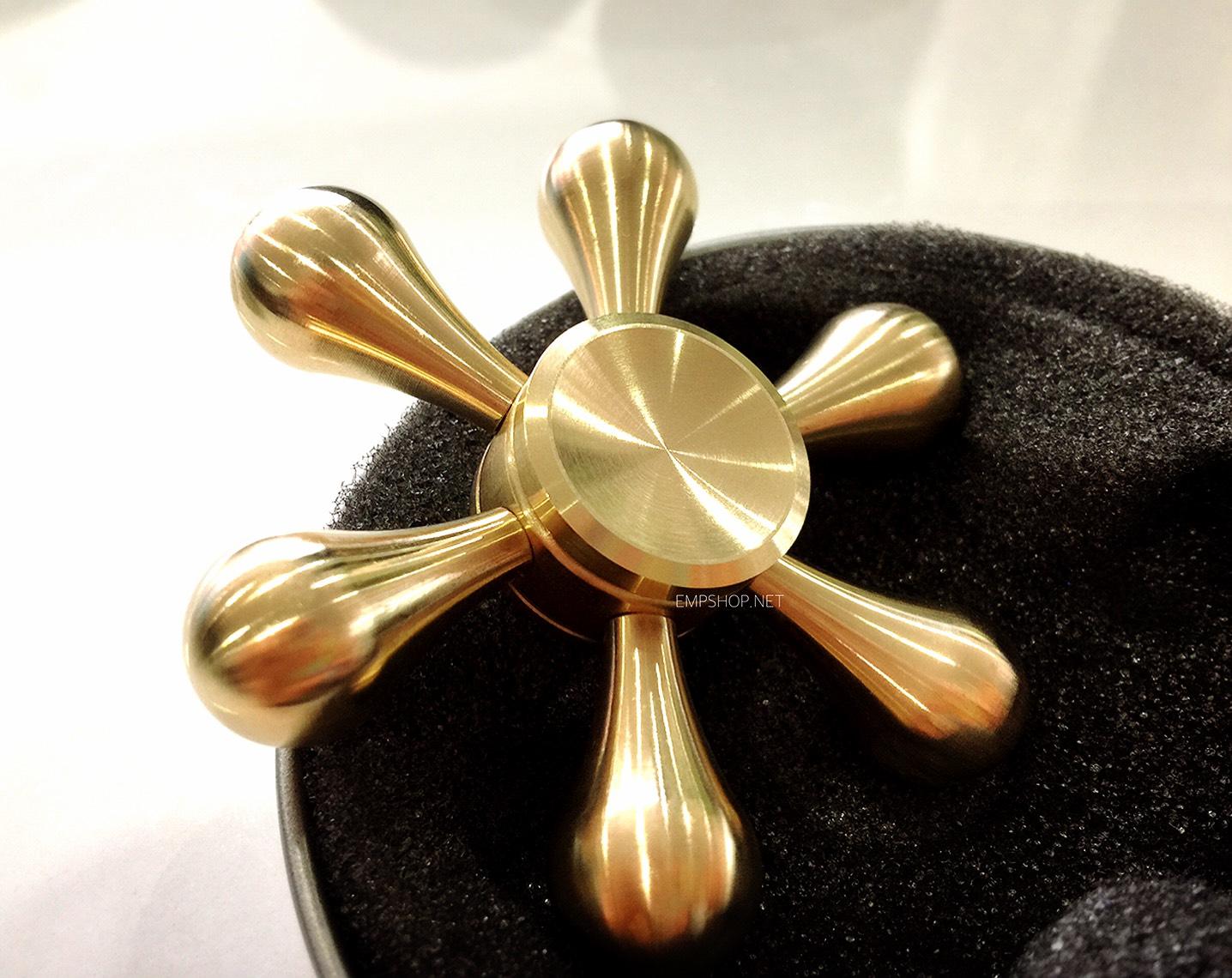 Golden Hexa Hand Spinner