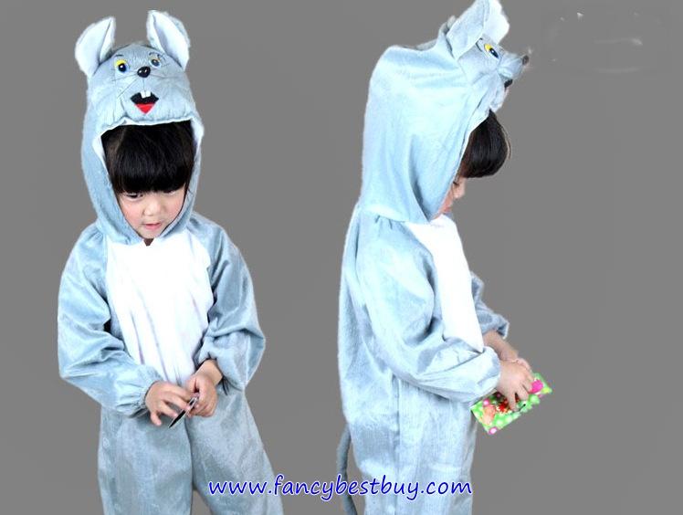 ชุดหนูมิกกี้ Mickey Mouse ชุดแฟนซีสัตว์เด็กหรือชุดมาสคอต สำหรับการแสดง ใช้ได้ทั้งเด็กชายหญิง มี ขนาด L, XL