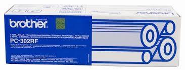 Brother PC-302RF ฟิล์มแฟกซ์ของแท้ Original Fax film (2ม้วน/กล่อง)