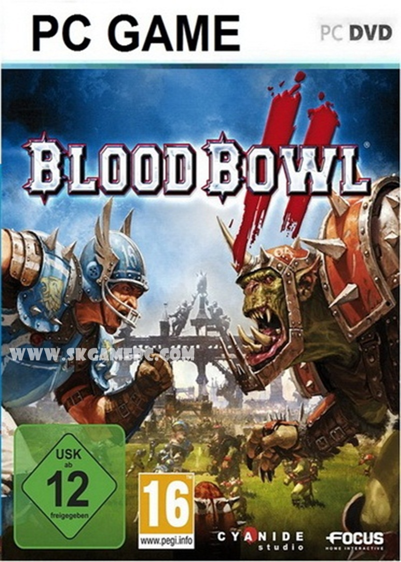 Blood Bowl 2 Legendary Edition ( 2 DVD )