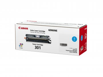 Canon Cartridge-301C ตลับหมึกโทนเนอร์ สีฟ้า Cyan Toner Original Cartridge