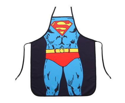 ผ้ากันเปื้อนแฟนซี ลาย Superman