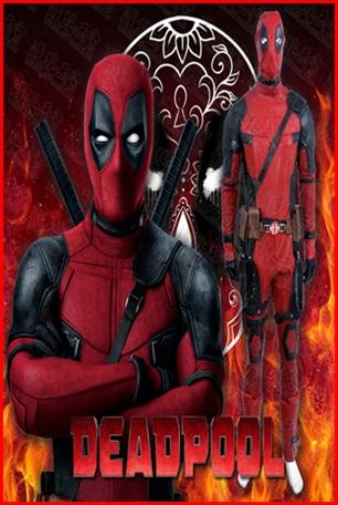 ชุดเดทพลู Deadpool แบบพรีเมี่ยม