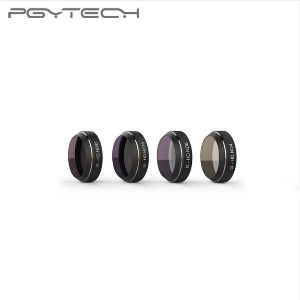 PGYTECH DJI Mavic Pro Lens Filter 4pc/set G-ND4 8 16 32 HD Multi-Layer Coating Reducing Camrea Lens