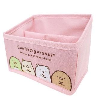 กล่องวางของ Sumikko Gurashi (สีชมพู)