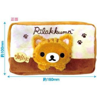 กระเป๋าใส่ของนุ่มนิ่ม Rilakkuma (2)