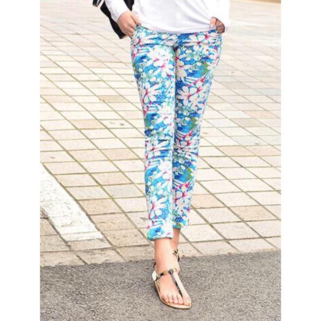 กางเกง Zara Flowery 2016