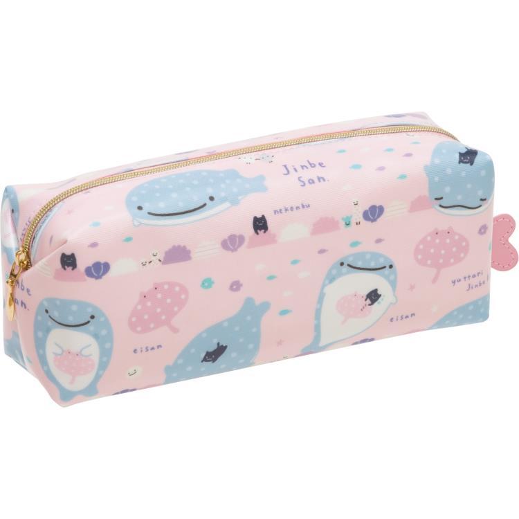 กระเป๋าดินสอ Jinbei-san สีชมพู