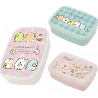 ชุดกล่องใส่อาหาร Sumikko Gurashi (3 ใบ)