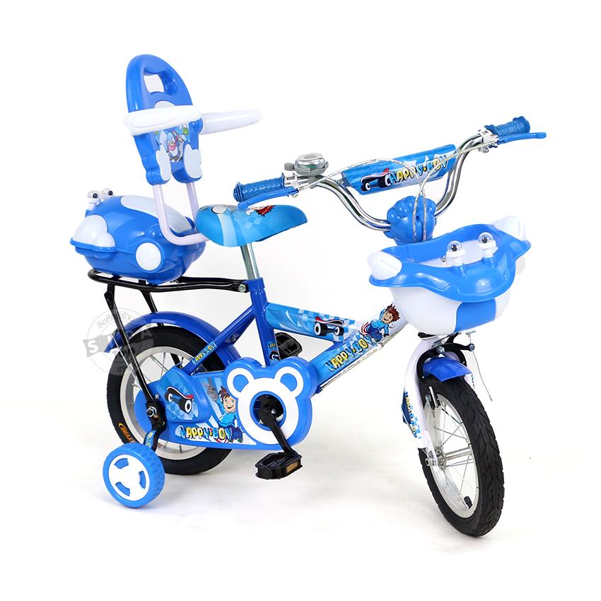 จักรยานเด็ก ขนาดล้อ 12 นิ้ว สีฟ้า..ฟรีค่าจัดส่ง
